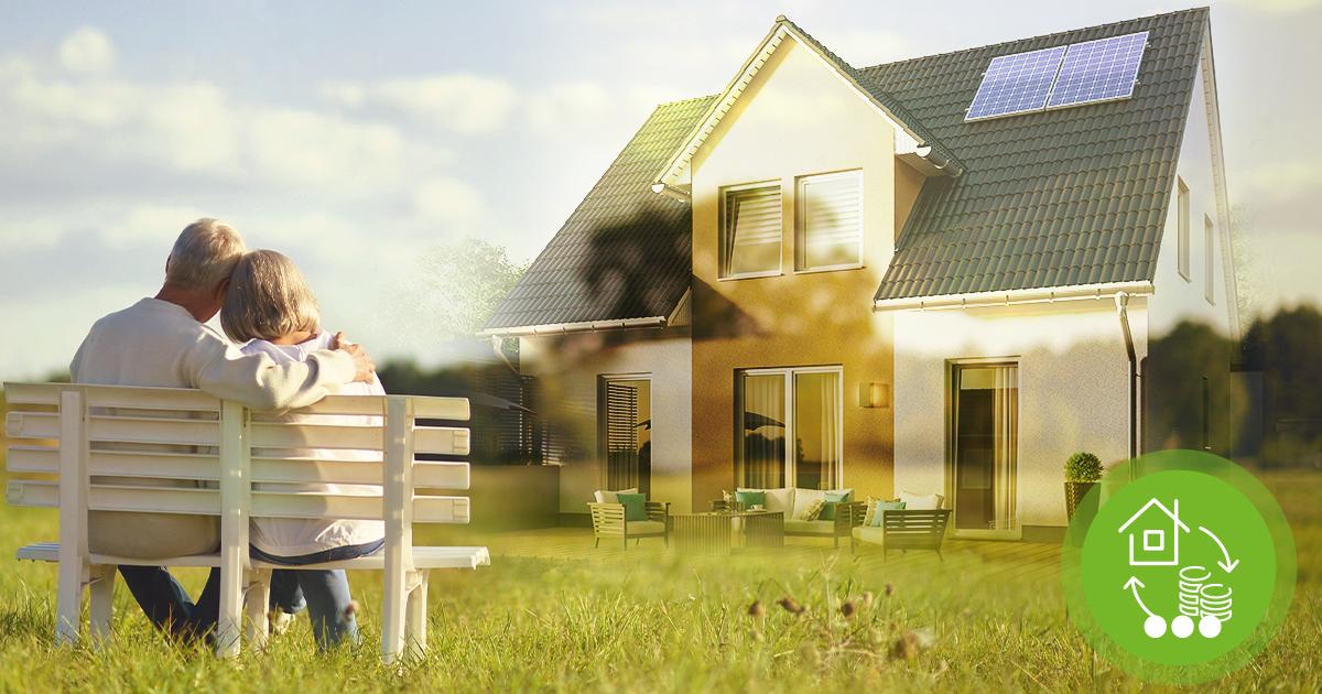 Immobilienverrentung-Rentner-Haus-Eigentum